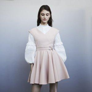 f328ffc8ba56 Maje ROSSIGNOL Lace skater dress · MajeRIMAE Sleeveless crepe skater skirt