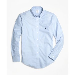 4 For $199Men's Non-Iron Slim Fit Oxford Sport Shirt | Brooks Brothers