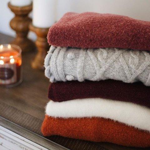 全场$39.99起 款式齐全T.J.Maxx 羊绒针织美衣热卖,颜色多多