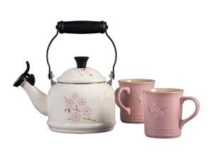 Le Creuset 樱花茶具套装