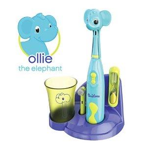$18.99+包邮Brusheez 超Q动物造型儿童电动牙刷套装,让宝宝爱上刷牙