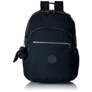KiplingSeoul Go Laptop, Padded, Adjustable Backpack Straps, Zip Closure