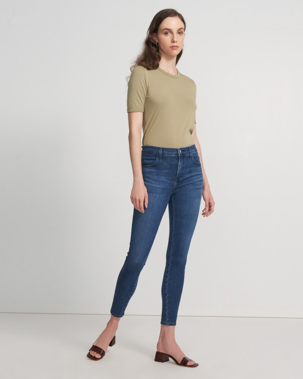 ALANA 高腰牛仔裤