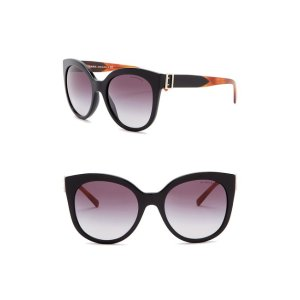 Burberry55mm Cat Eye Sunglasses