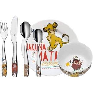 WMFX 狮子王 餐具6件套