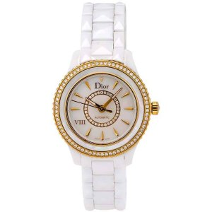 DiorViii Ceramic Automatic Diamond 33mm Ladies Watch CD1235H1C001