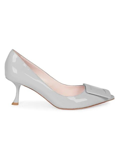 Belle 方扣高跟鞋