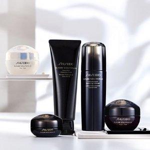 Shiseido赠品*满£175即送!时光琉璃护肤套装