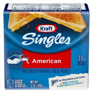 Kraft Singles American Cheese Slices - 16ct : Target