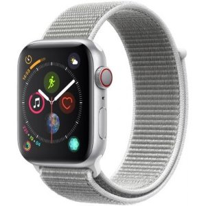 Apple Watch Series 4 GPS 44mm Sport Band Silver Aluminum