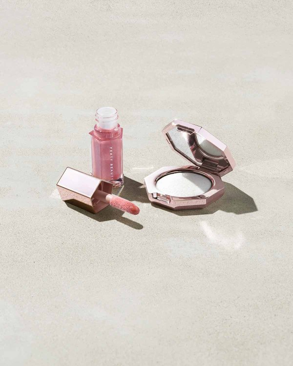 mini钻石高光唇釉套装