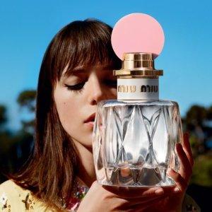 $61.6上新:Miu Miu Fleur D'Argent 鸢尾银瓶淡香水