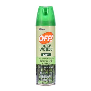 OFF! Deep Woods Insect Repellent VIII Dry 4 Ounces