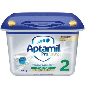 适合6个月+宝宝 售价€19.95Aptamil Profutura 2 爱他美白金版婴儿奶粉 800g 德亚自营 囤货必备