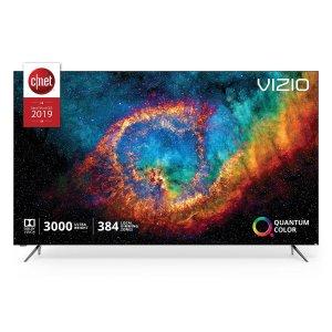 $1749 再送$500礼卡VIZIO 顶级P系列 65吋 4K HDR 量子X 超高清智能电视
