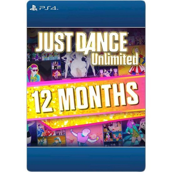 Just Dance 2018~2020 Unlimited 12个月 PS4版