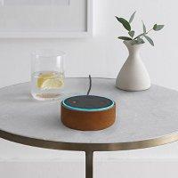 Amazon Echo Dot 皮质保护壳 红棕色