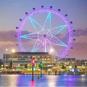 成人票$18 全球三大巨轮之一 浪漫好去处墨尔本之心 南半球最大摩天轮飞行体验 必去景点