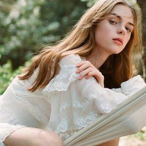 低至6折 收欧阳娜娜同款衬衫IRO 夏季美衣热卖 韩国女星最爱法式小众品牌