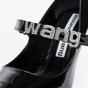低至4折+额外8.5折Alexander Wang 全场热卖 收潮人都爱的经典断根靴