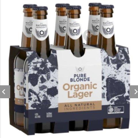 $46.9/24瓶(店内原价$4/瓶)Pure Blonde 有机淡啤酒特价 比5折还低