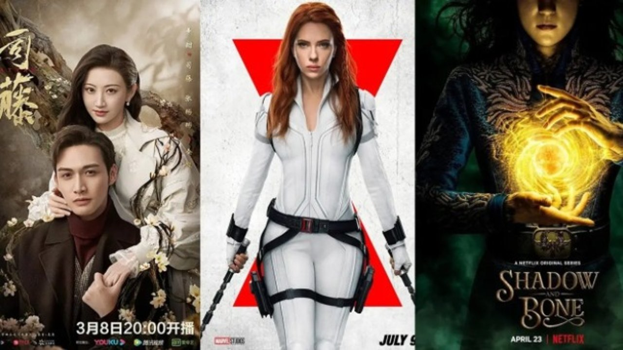 【追剧贴】电影《黑寡妇》7月上映;Netflix奇幻剧《太阳召唤》4月上线;景甜新剧《司藤》正在热播;电影《正义联盟》扎导版上线 | 看剧追番不能停,娱乐大事早知道!