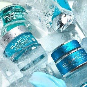 立减$25 + 送好礼Glamglow 美妆护肤七夕热卖 收蓝罐补水、白罐清洁系列