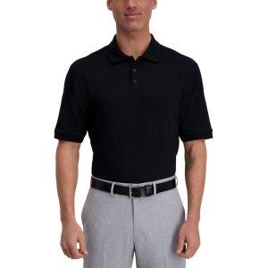 HaggarLarge Box polo衫