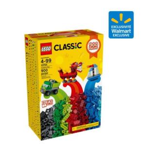 黑五前开抢!$24.88(原价$49.86)LEGO Classic 经典系列创意积木盒 900粒装