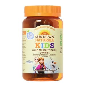 $4Sundown Naturals® Kids Disney Princess® Complete Multivitamin, 60 Gummies @ Amazon
