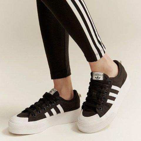 封面智秀同款£50收adidas nizza系列球鞋大促 轻盈厚底 增高显瘦两不误