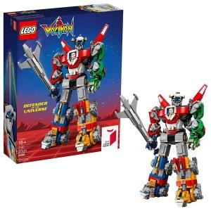 $143.96史低价:LEGO 战神金刚/百兽王Voltron 21311