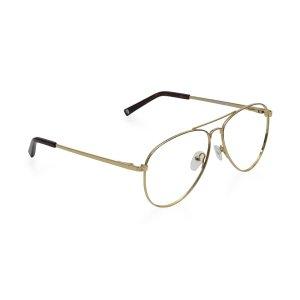 需使用折扣码RESPONSE25金属细边眼镜框