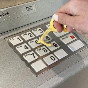 Jane 无接触防疫钥匙扣 按键开门神器