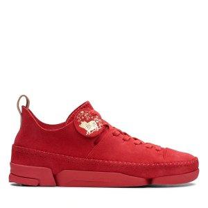 红色限量款三瓣鞋