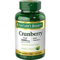 Nature's Bounty 蔓越莓精华+维生素C 4200mg