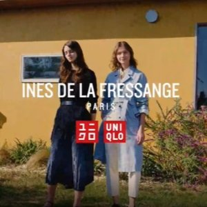 发售!£12.9收超模同款美衣新品上市:Uniqlo x INES DE LA FRESSANGE 2021春夏系列 高颜值美衣