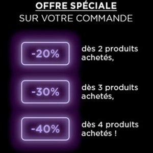 低至5折 €7收小钢笔黑五开抢:L'oreal欧莱雅 全场大促 入李佳琦推荐小钢笔等
