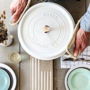 低至3.8折起 $76.5收小锅手慢无:Staub铸铁锅热促 多尺寸多颜色随意挑 烹饪美食就靠它