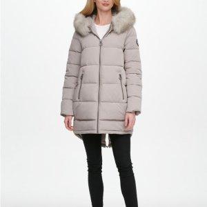 低至3折 保暖针织衫$9限今天:Macys 冬季时尚闪购,男女款式都有,封面外套$82