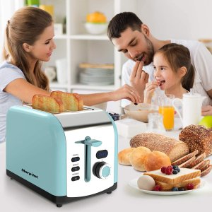 7.6折 €22.94两色可选Morpilot 高颜值烤面包机特卖 温暖的一天从早晨开始
