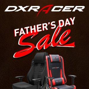 低至6.5折即将截止 DXRacer办公椅、电竞椅父亲节大促