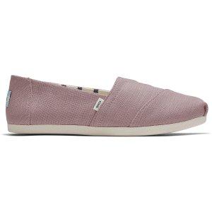 Toms香芋紫渔夫鞋