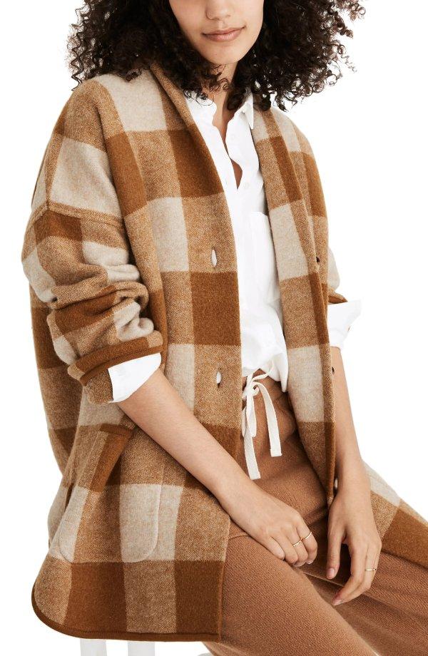 Buffalo格纹外套