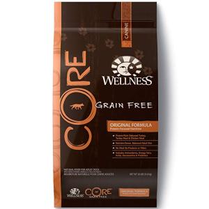$58.48(原价$129.98)史低价:Wellness Core 无谷纯天然火鸡鸡肉味狗粮 26lb 2袋