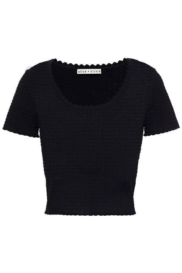 Ciara短款针织衫