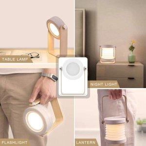折后€14.84起 触摸控制SZSMD 高颜值多功能可折叠灯热促 台灯夜灯手电随心变