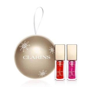 Clarins价值$62唇油套装