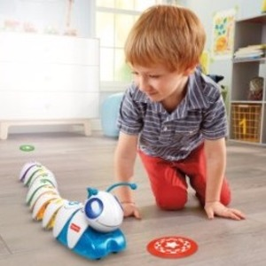 $39.5(原价$74.99)Fisher-Price 智能毛毛虫玩具 鼓励思考学习编程