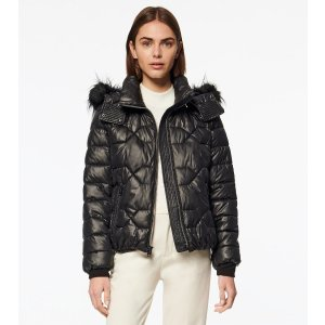 Andrew MarcPONCE DOWN-FILLED QUILTED BOMBER JACKET